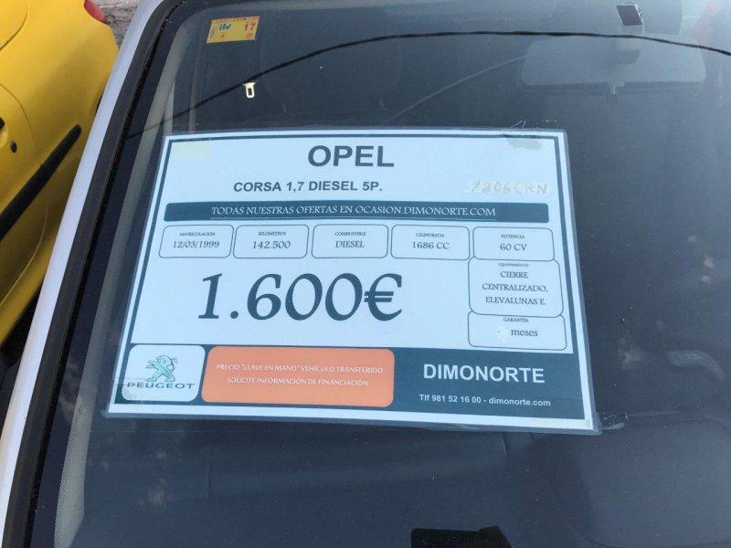 Opel Corsa 1.7D ECO