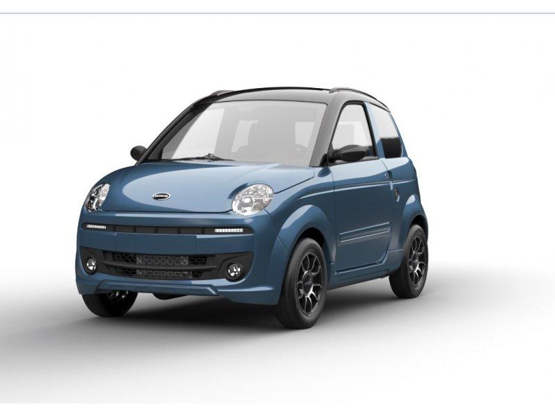 Microcar MGO Premium 2 cilindros Ley Lombardini Diesel Progreso