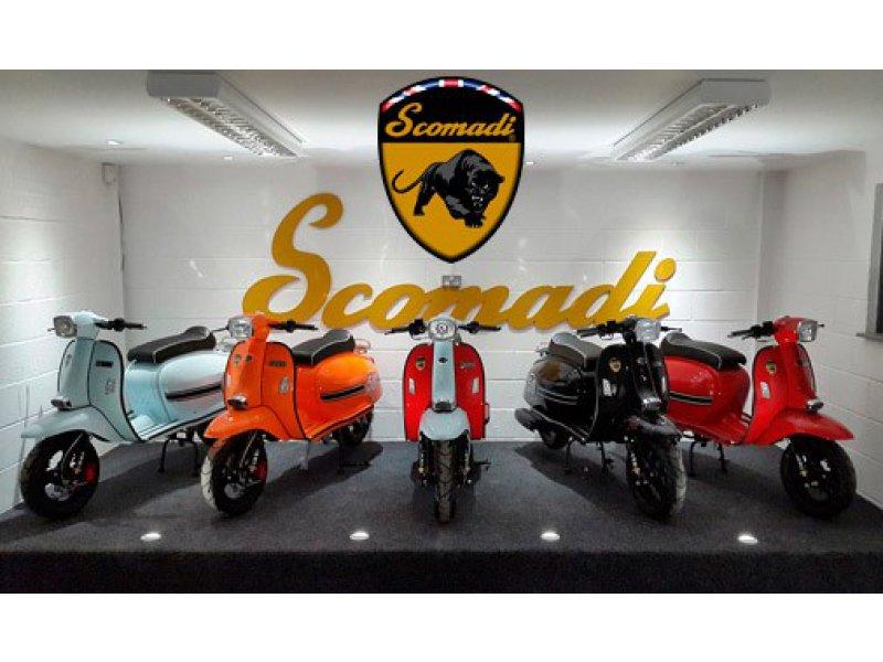 Scomadi Turismo Leggera TL 50 50cc gasolina TL 50cc