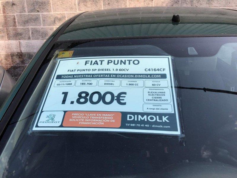 Fiat Punto 1.9 D -