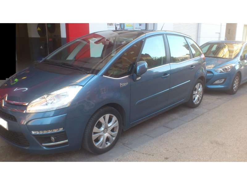 citroen c4 picasso 1 6 hdi 110 cmp s s seduction diesel azul con 35000kms en valencia. Black Bedroom Furniture Sets. Home Design Ideas