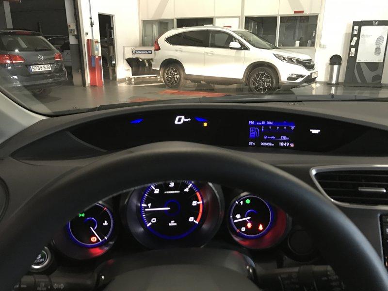 Honda Civic 1.6 i-DTEC Navi Elegance
