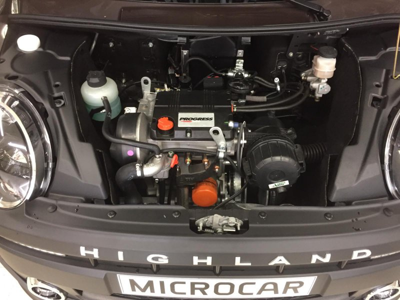 Microcar M. Go Higland LOMBARDINI